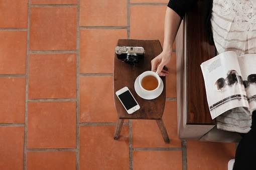 読書とお茶