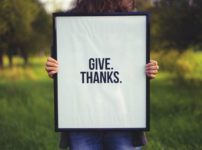 """Give thanks"" (Photo by Simon Maage on Unsplash)"