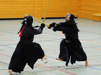 Kendo-fighting