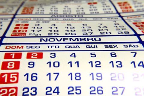 カレンダー 11月