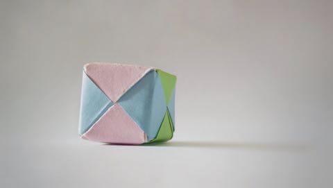和紙でできた風船