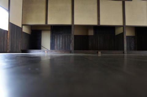 武道場の内部