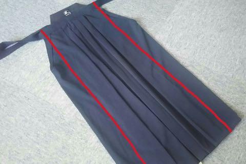 剣道袴のたたみ方5