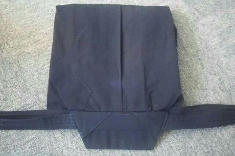 剣道袴のたたみ方7ー2