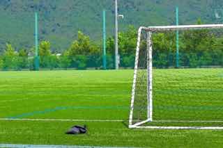 サッカーのゴールポスト