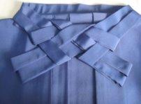 綺麗に畳まれた袴と帯