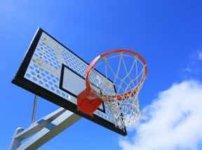 バスケのゴールポスト