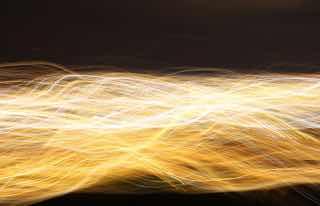 光の線の束