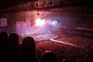 ライブ会場の風景