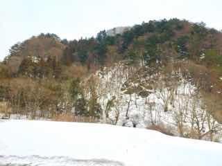 冬山の光景