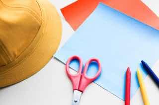 幼稚園の帽子と工作セット