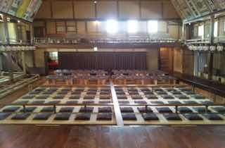 歌舞伎の舞台から客席を観る