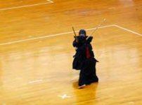 剣道の試合の様子