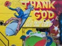 THANK GODの看板