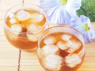 二杯の麦茶