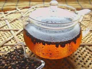 水出ししている麦茶