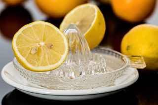 レモンの絞り器