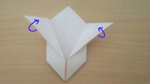 折り紙・うさぎ風船10