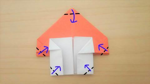 折り紙きのこ9