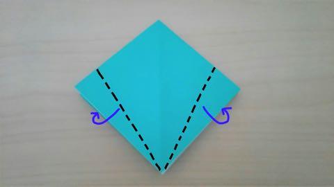 折り紙・かぼちゃ6