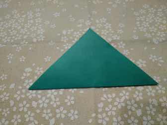 折り紙・兜の折り方①