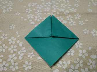 折り紙・兜の折り方④ー2