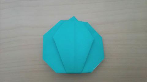 折り紙かぼちゃ10
