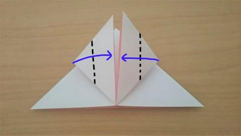 折り紙・うさぎ風船5