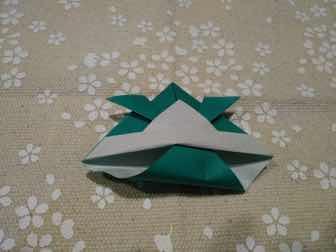 折り紙・兜の折り方⑨ー1