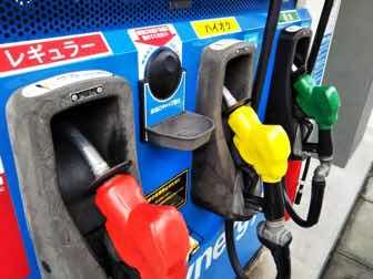 ガソリンスタンドの給油設備