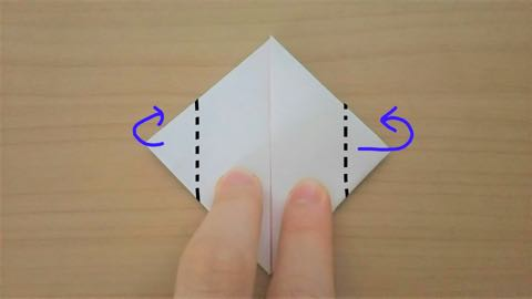 折り紙・うさぎ風船8