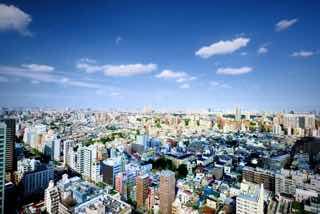 日本の市街地を俯瞰的に見る