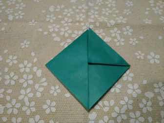 折り紙・兜の折り方④ー1
