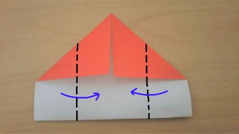 折り紙きのこ4