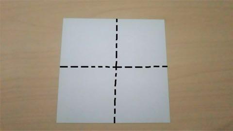 折り紙きのこ1