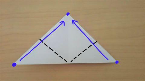 折り紙・うさぎ風船7