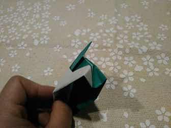 折り紙・兜の折り方11ー1