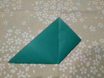 折り紙・兜の折り方②ー1