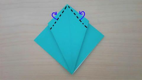 折り紙・かぼちゃ7