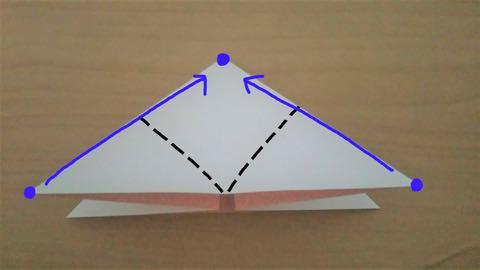 折り紙・うさぎ風船4
