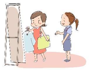 ショッピングのイラスト