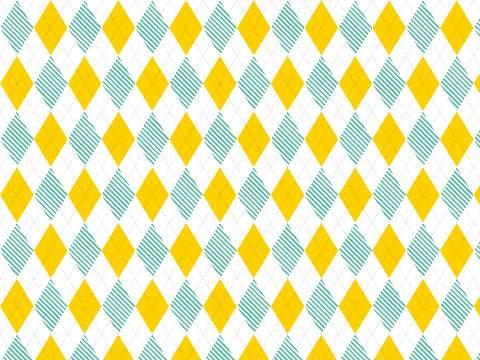 ひし形のパターン模様